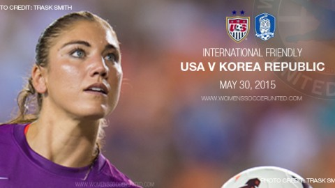 Full-time: USA 0-0 Korea Republic – International Friendly (30 May 2015)