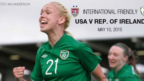 Full-time: USA 3-0 Republic of Ireland – International Friendly (10 May 2015)