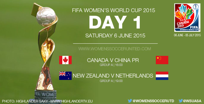 Day One at the FIFA Women's World Cup 2015 - Group Stage (6 June)