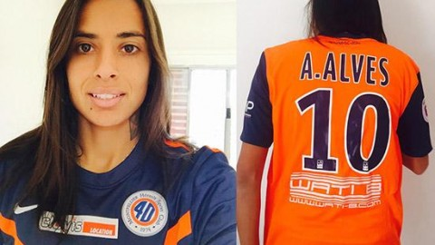 Andressa Alves signs for Montpellier HSC