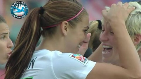 Alex Morgan scores game-winner as USA beat China PR 1-0 in front of 13,230 fans