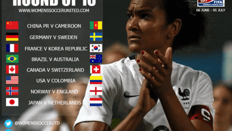 Round of 16 – FIFA Women's World Cup 2015