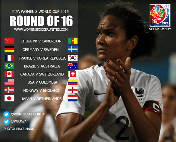 Round of 16 - FIFA Women's World Cup 2015