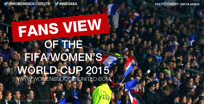 Fans View of the FIFA Women's World Cup 2015