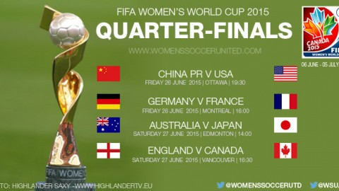 Quarter-finals – FIFA Women's World Cup 2015