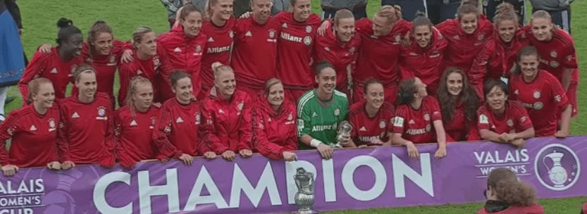 Bayern Munich are Valais Women's Cup 2015 Champions