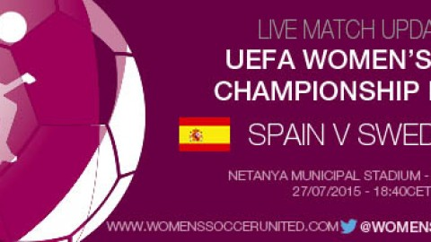 LIVE updates: Spain v Sweden – UEFA Women's U-19 Championship Final