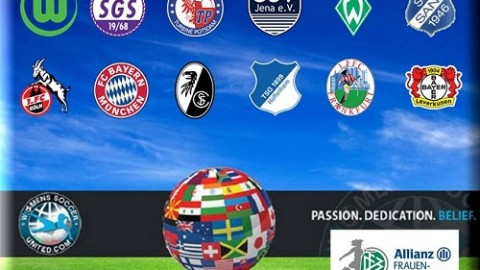 German Allianz Frauen Bundesliga match results 11th October 2015