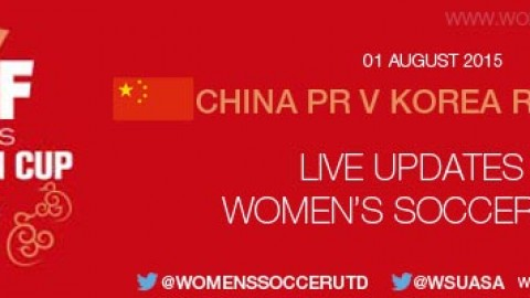China PR v Korea Republic – EAFF Women's East Asian Cup 2015 | Live match updates