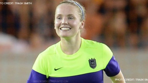 For The Second Consecutive Week Seattle Reign FC Midfielder Kim Little Voted NWSL Player of the Week