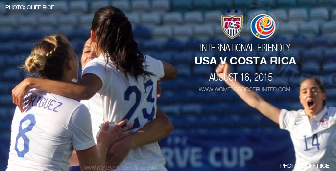 USA v Costa Rica – Victory Tour - International Friendly (16 August 2015)