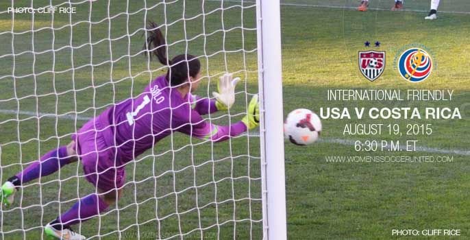 USA v Costa Rica – Victory Tour – International Friendly (19 August 2015)