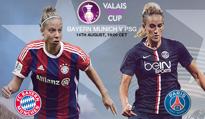 PSG v Bayern Munich | Valais Women's Cup 2015 – 14 August