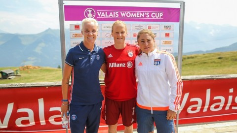 Valais Women's Cup 2015 press conference