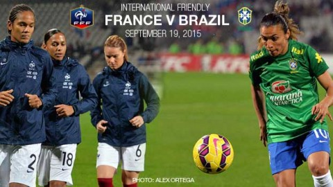 Full-time: France 2-1 Brazil – International Friendly (19 September 2015)