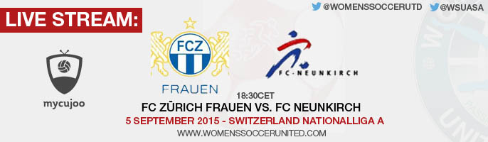 Live stream: FC Zürich vs. FC Neunkirch | 5 September 2015 - Switzerland Nationalliga A