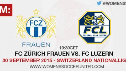 Live stream: FC Zürich vs. FC Luzern | 30 September 2015 – Switzerland Nationalliga A