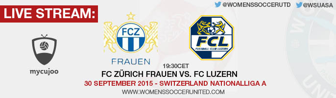 Live stream: FC Zürich vs. FC Luzern | 30 September 2015 - Switzerland Nationalliga A