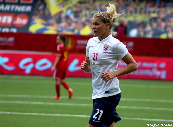 Ada Hegerberg interview on Women's Soccer United