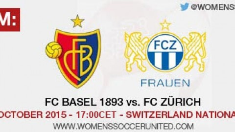 Live stream: FC Basel 1893 vs. FC Zürich | Switzerland Nationalliga A – 31 October 2015