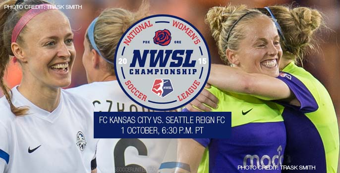 Seattle Reign FC will attempt to win its first NWSL Championship against defending champions FC Kansas City
