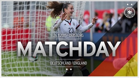 Germany v England - International friendly (26 November 2015)