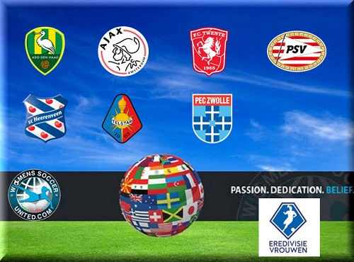 Netherlands Eredivisie Women 2015 teams