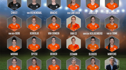Netherlands announce squad for international friendly against Japan