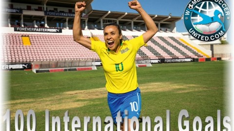Marta Has Now Scored 100 International Goals