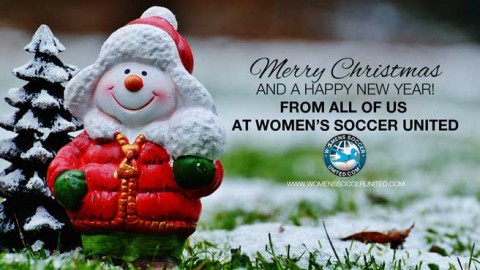 Merry Christmas and a Happy New Year from Women's Soccer United!