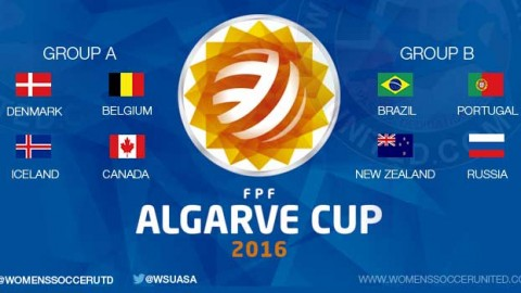 Algarve Cup 2016 Groups announced