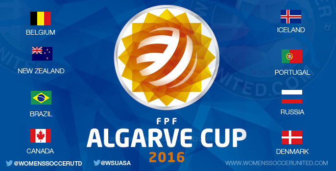 Algarve Cup 2016 teams