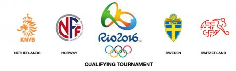 Venues and kick-off times confirmed for Rio 2016 qualifying tournament between Netherlands, Sweden, Norway and Switzerland