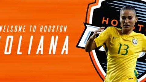 Houston Dash sign Brazilian defender Poliana and acquire NWSL College Draft pick, international roster spot from FC Kansas City