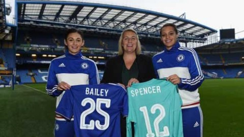 Chelsea Ladies announce the signings of Becky Spencer and Jade Bailey