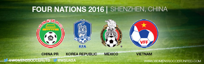 Four Nations Tournament 2016 in Shenzhen, China