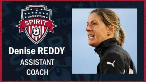 Washington Spirit name Denise Reddy as assistant coach