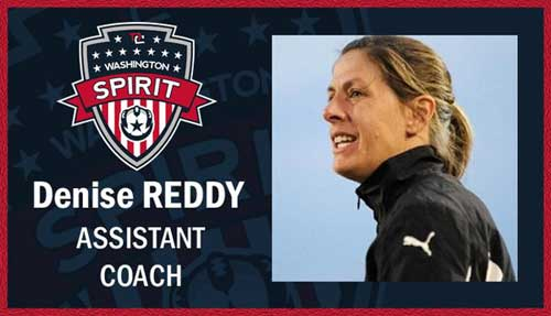 Denise Reddy photo via twitter @WashSpirit