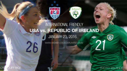 Full-time: USA 5-0 Republic of Ireland | International Friendly (23 January 2016)