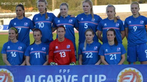Iceland squad announced to compete at Algarve Cup 2016