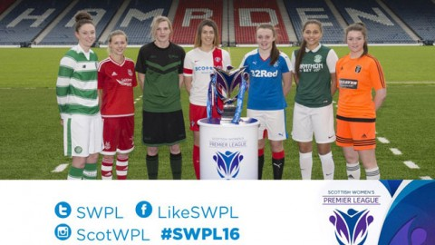 Scottish Women's Premier League 2016 season launch