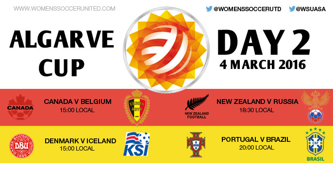 Day 2 at the Algarve Cup 2016