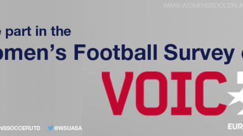 Women's football survey in collaboration with Eurosport Voice