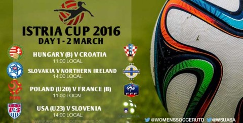 Day 1 at the Istria Cup 2016