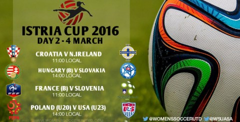 Day 2 at the Istria Cup 2016