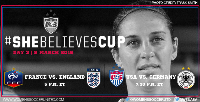 Day 3 at the SheBelieves Cup 2016