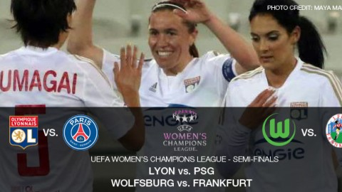 2015/16 UEFA Women's Champions League semi-finalists