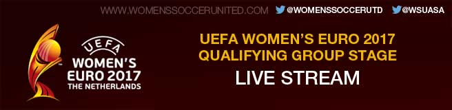 UEFA Women's EURO 2017 qualifier live stream