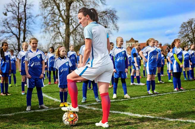 FA/SSE girls only football programme