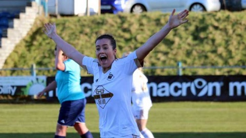 Katy Hosford: Scoring a goal for the Swans is a feeling I can't describe
